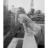 Marilyn Monroe at the Ambassador Hotel NYC 1955