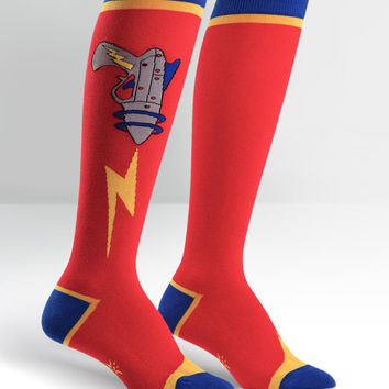 Ray Gun Knee High Socks