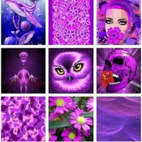 Ultraviolets Designs Collection – Color of the Year 2018 – Pantone 18-3838