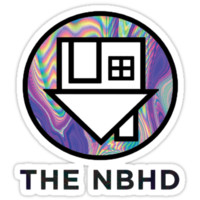 THE NBHD Holographic T-Shirts & Hoodies