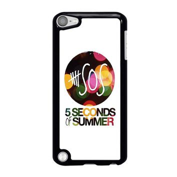 5 SECONDS OF SUMMER 5 5SOS iPod Touch 5 Case Cover