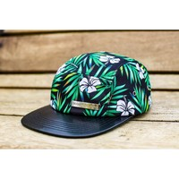 Just the rainbow tips 5 panel hat