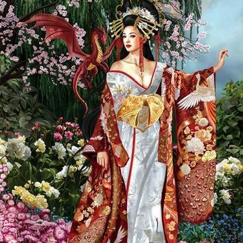 Queen of Silk 1000pc Jigsaw Puzzle