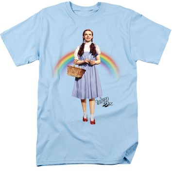 Wizard of Oz - Dorothy Over the Rainbow LT Blue T-Shirt