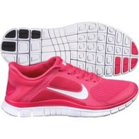 Nike Women's Free Run 4 v3 Running Shoe - Pink/White | DICK'S Sporting Goods