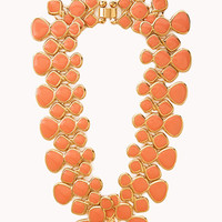 FOREVER 21 Lacquered Link Necklace