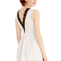 ModCloth Mid-length Sleeveless A-line To Your Benefit Dress