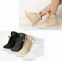 wedge sneakers in Athletic | eBay