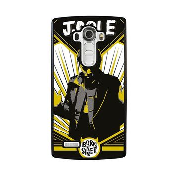 J. COLE BORN SINNER LG G4 Case Cover