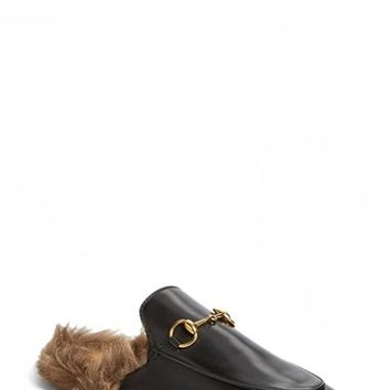 Women's Gucci 'Princetown' Slip-On Loafer,