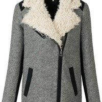Euroamerican Fashion Lapel Woolen Overcoat,Cheap in Wendybox.com