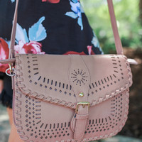 A Brush with Blush Purse