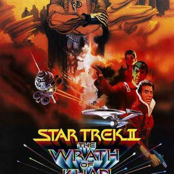 Star Trek II: The Wrath of Khan Movie Poster 11x17