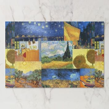 Van Gogh Dream Paintings Art Placemats