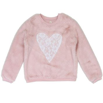 Pink Cozy Pullover 4 - 6x