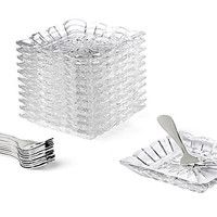 25-Pc Alexandria Taster Plate Set