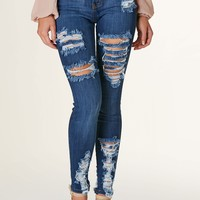 Roam Free Distressed Skinnies