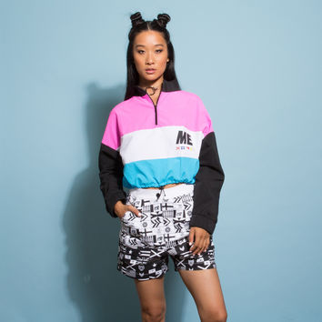 Melody Ehsani Cropped Windbreaker