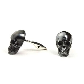 Skull Cufflinks | LeiVanKash