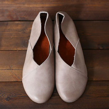 3 colors 2016 NEW SHOES! Handmade Soft Shoes,Oxford Women Shoes, Flat Shoes, Retro Leather Shoes, Slip-ons