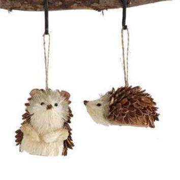 Sisal Hedgehog Ornament