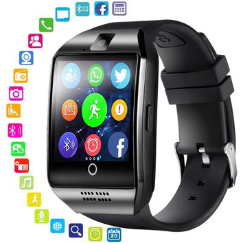 Bluetooth Q18 S18  Smart Watch APPOR Support Sim Card Bluetooth Camera Connecting Smart Clock watch Smartwatch PK GT08