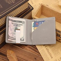 Xiniu Mens Leather Card Holder Cas For card Magic Credit Card ID Holder Men Wallet #GHXTJ