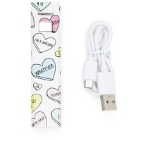 Heart Print Phone Charger