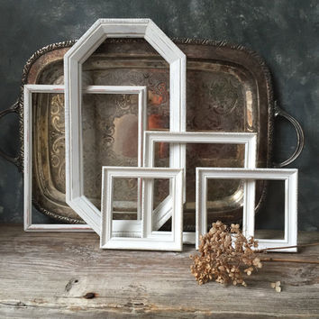Shop Distressed Wood Picture Frames on Wanelo
