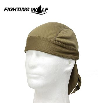 Cycling Cap Sweatproof Sunscreen Headwear Bike Team Scarf Coif Bicycle Bandana Pirate Headband Seamless Breathable Riding Hat