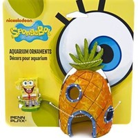 Spongebob/Pineapple 2Pc Ornmnt Combo Pack Ornament
