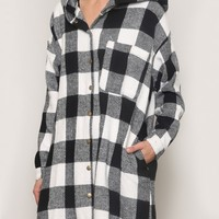 Newport Plaid Coat