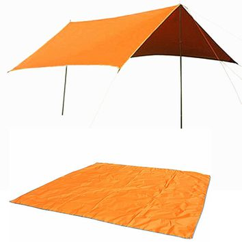Naturehike 300D Oxford cloth + PU coating 3-4people sun shelter Cloth Outdoor Camping Mat For Picnic Beach Party Tent Awning