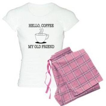 Hello Coffee My Old Friend Pajamas> Hello Coffee> Sheldon To Mr Darcy Art by Alice Flynn
