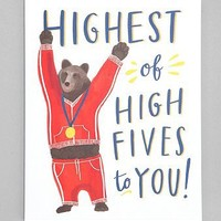 Emily McDowell Highest Of High Fives Card