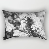 Lilacs Rectangular Pillow by Alayna H.