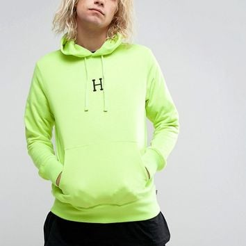 HUF State Hoodie With Logo at asos.com