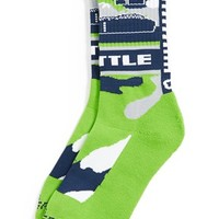 G206 Wear 'Seattle Seahawks - Hawk Nation' Socks (Big Kids)