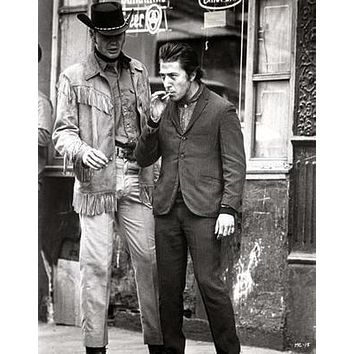 Midnight Cowboy Movie poster Metal Sign Wall Art 8in x 12in