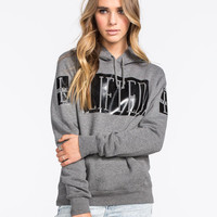 Lrg Lifted Womens Hoodie Charcoal  In Sizes
