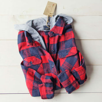 The Jackson Plaid Hoodie