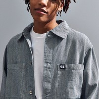 Lazy Oaf Stripe Denim Jacket | Urban Outfitters