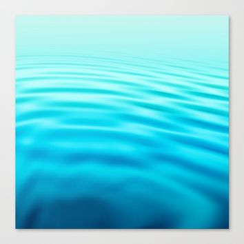 OCEAN ABSTRACT I Canvas Print by Pia Schneider [atelier COLOUR-VISION]