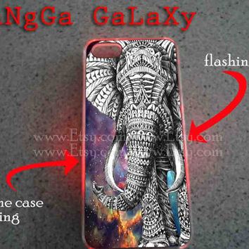 iphone case,elephant galaxy clear flashing,iphone 5 case,iphone 4/4s case,samsung s3,s4 case,accesories,cell phone,hard plastic.