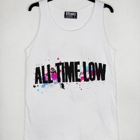 All Time Low Awesome Unisex Tank Top Adult