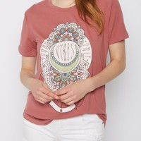 Boho Good Vibes Soft Knit Tee | Graphic Tees | rue21