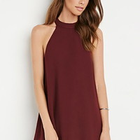 Halter Trapeze Dress