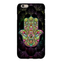 Hamsa Hand Amulet Psychedelic iPhone 6 Slim Case