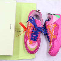 OFF-WHITE c/o ODSY-1000 Sneakers Pink