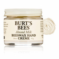 Burts Bees Almond Milk Beeswax Hand Creme, 2 oz (Pack of 3)